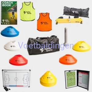 Voetbaldingen Agility Sports set